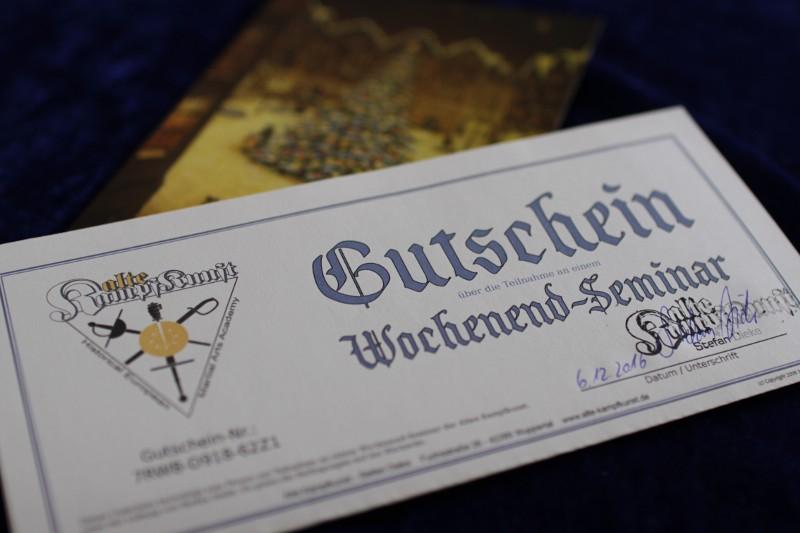 Geschenkidee Seminargutschein